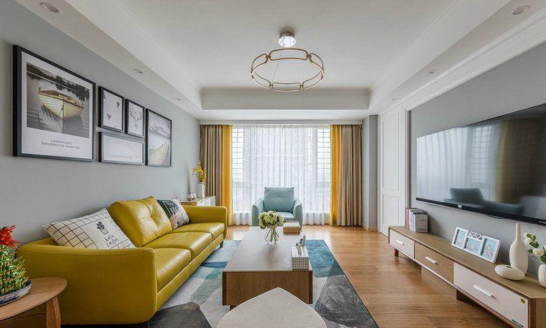 项目案例【佳天下装饰】89㎡现代北欧二居室装修