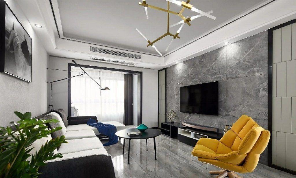 项目案例【佳天下装饰】100㎡现代简约风三居室