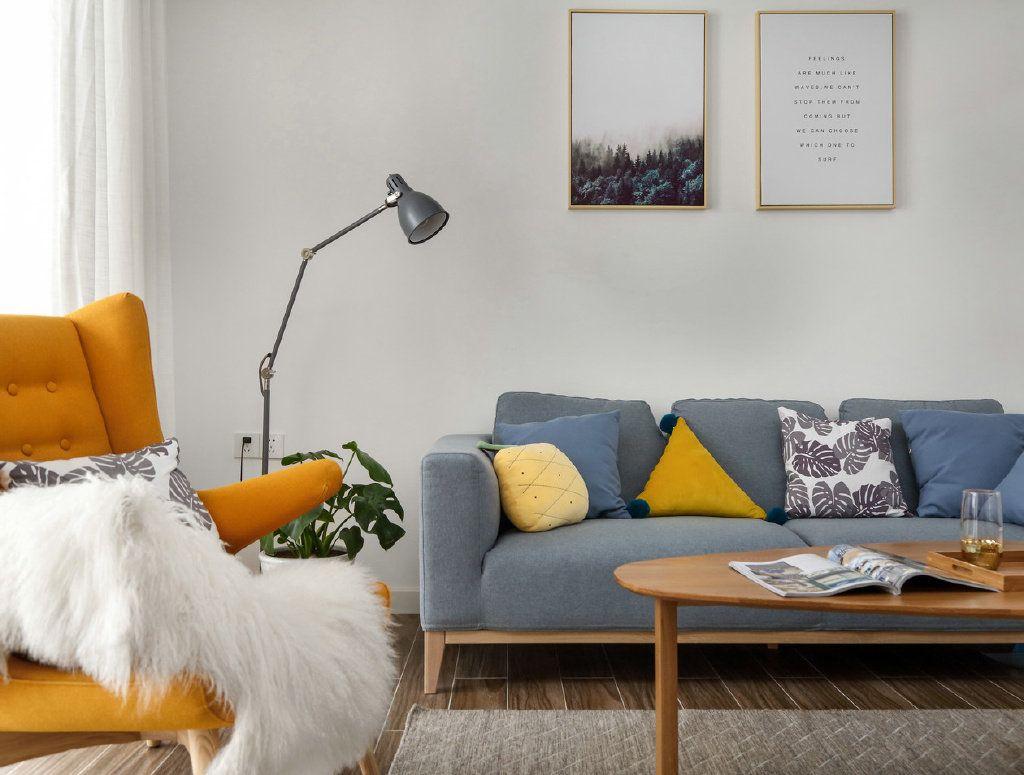 项目案例【佳天下凯发体育app下载】 95㎡简约北欧风格三居室
