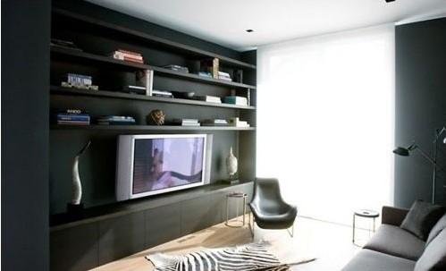 电视背景墙上的灯光不宜太亮