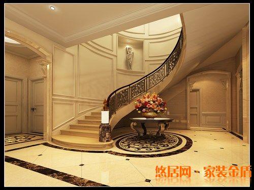 别墅楼梯如何设计图解