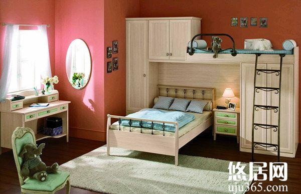 儿童房装修合理设计布局给孩子营造自由空间