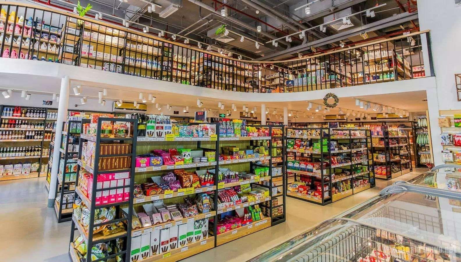 重庆超市装修设计